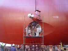 Link to Invicta Marine Propulsion for bow thrusters and CPP system repair and overhaul