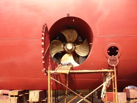 Bow Thruster Installation