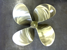 Link to Invicta Marine Ltd for propeller supply, repair and modifications